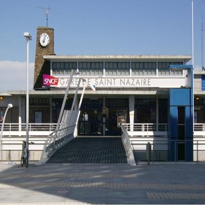 SAINT-NAZAIRE SNCF STATION – FRANCE
