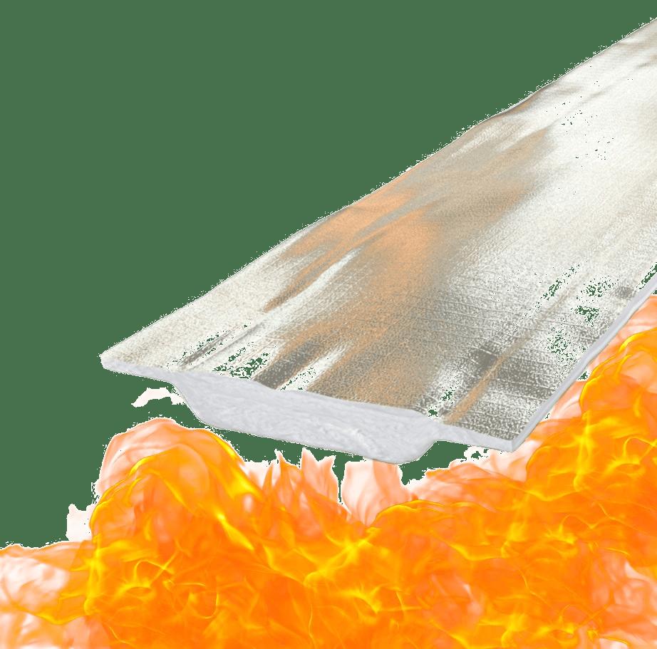 Nappe N coupe-feu pour le bâtiment
