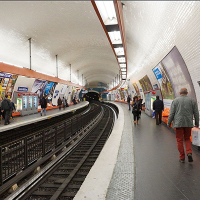 MÉTRO SAINT-MICHEL – FRANCE