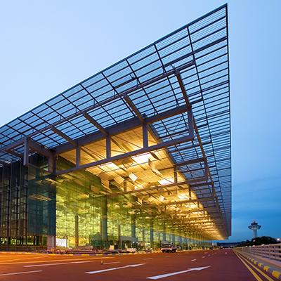 AÉROPORT DE CHANGI – SINGAPOUR