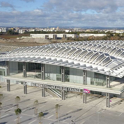 TGV STATION MONTPELLIER SOUTH OF FRANCE – FRANCE