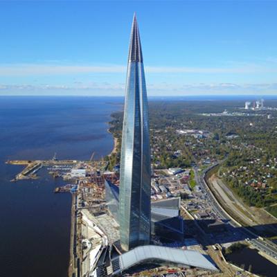 LAKHTA CENTRE GAZPROM – RUSSIE