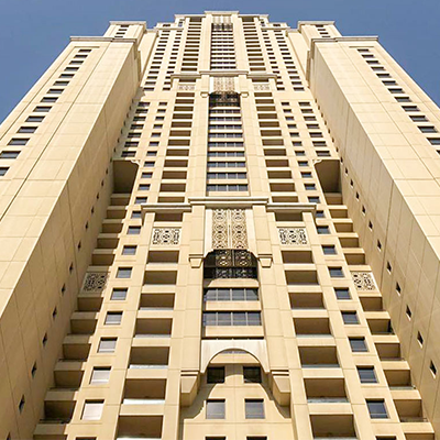 SHAMS RESIDENTIAL BUILDINGS – DUBAÏ – EMIRATS ARABES UNIS